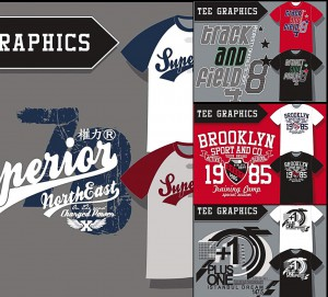 sport related designs for t-shirt