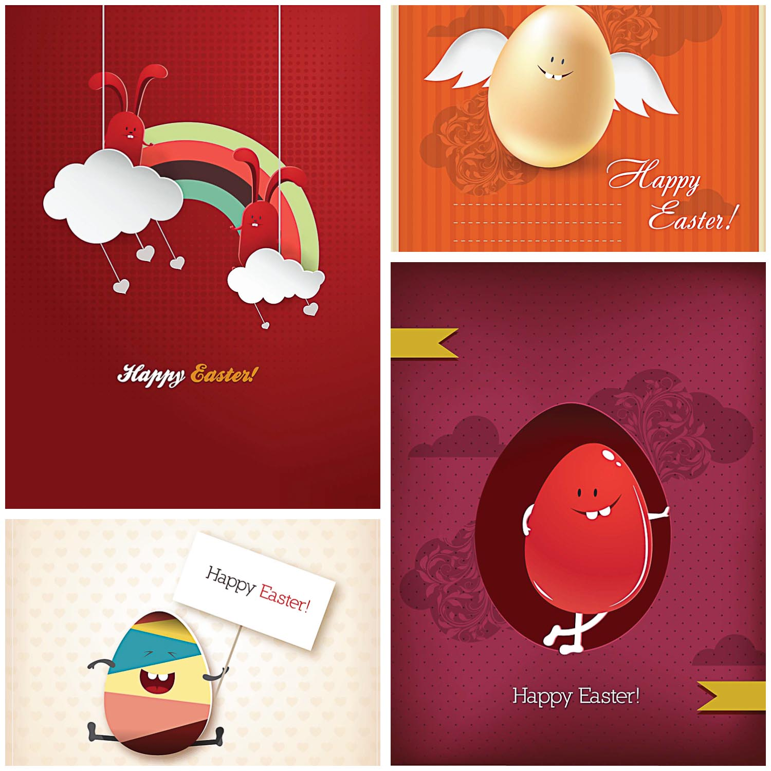 Funny Easter greeting cards