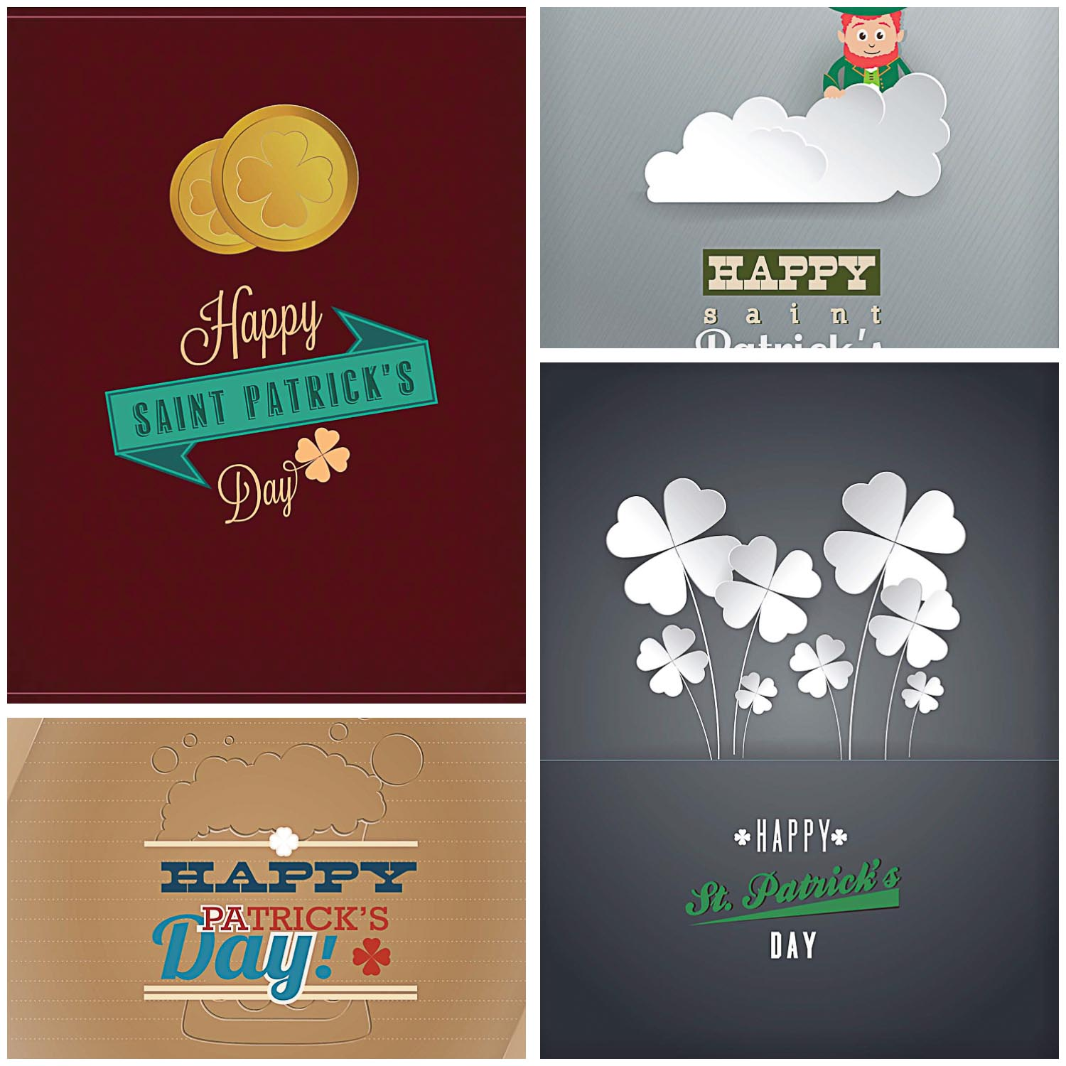 Great greeting cards for St.Patrick's Day