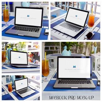 Apple Macbook pro mockup set