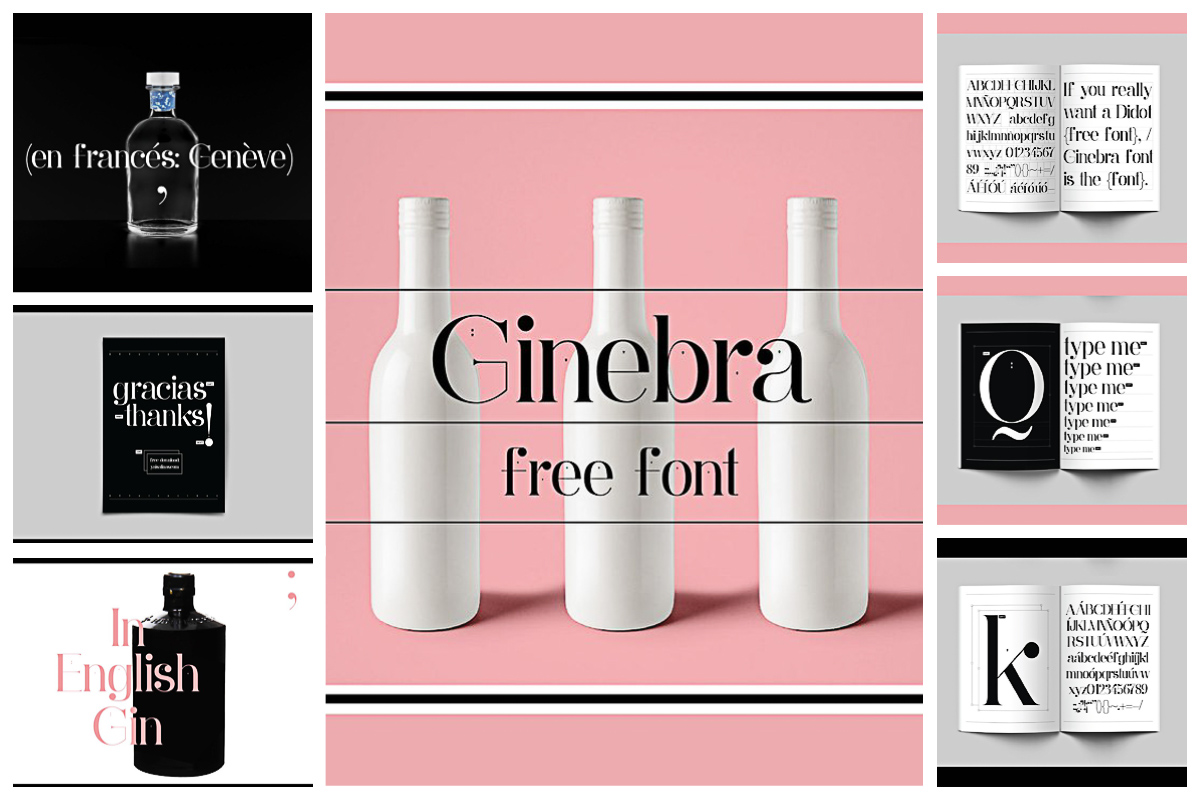 Ginebra elegant free font
