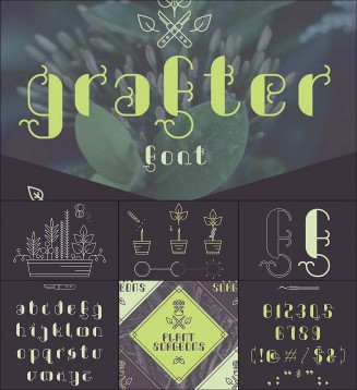 Grafter free font