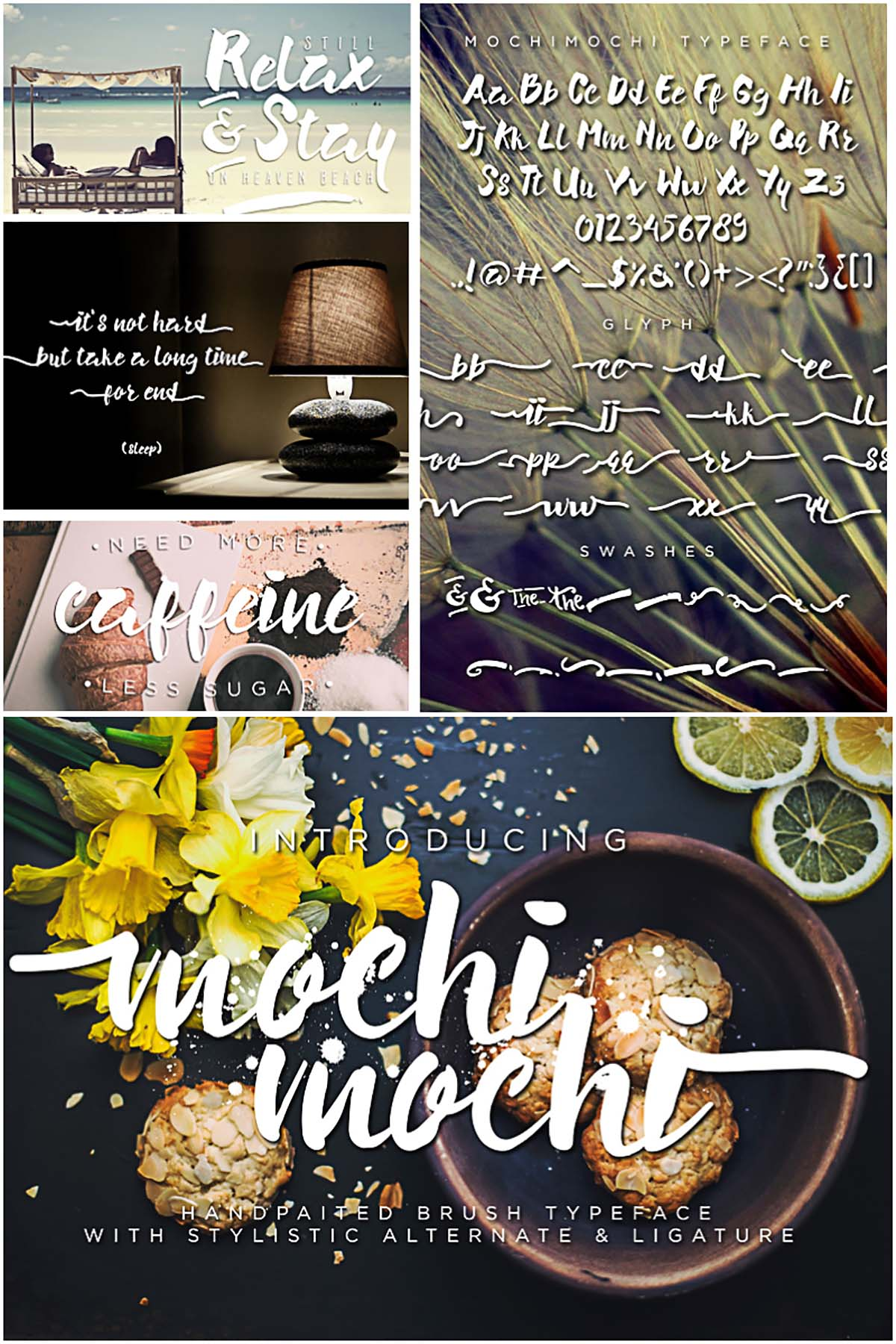 Mochimochi handpainted font
