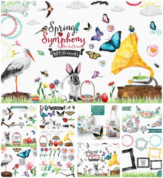 Spring symphony elements