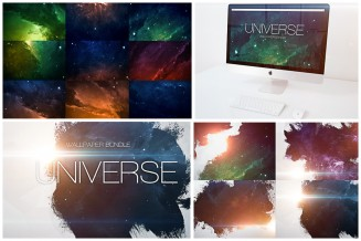 Universe wallpaper 5k set
