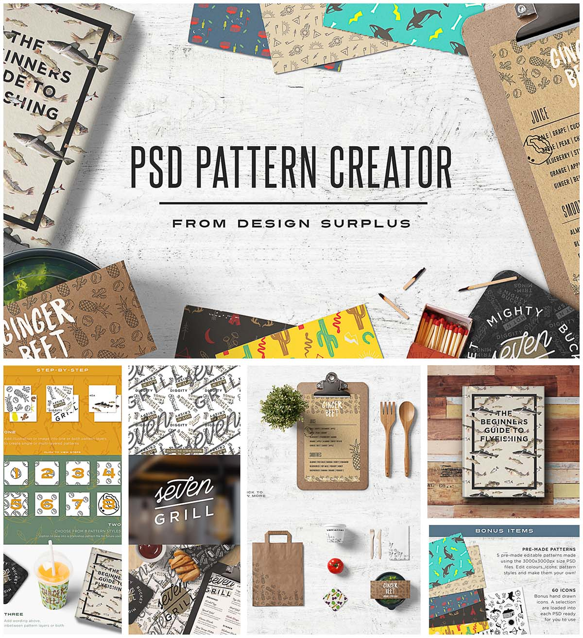 PSD Pattern Creator set