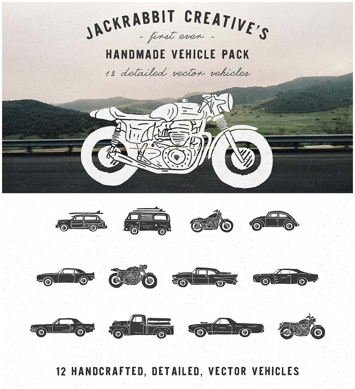 Vintage vehicle collection