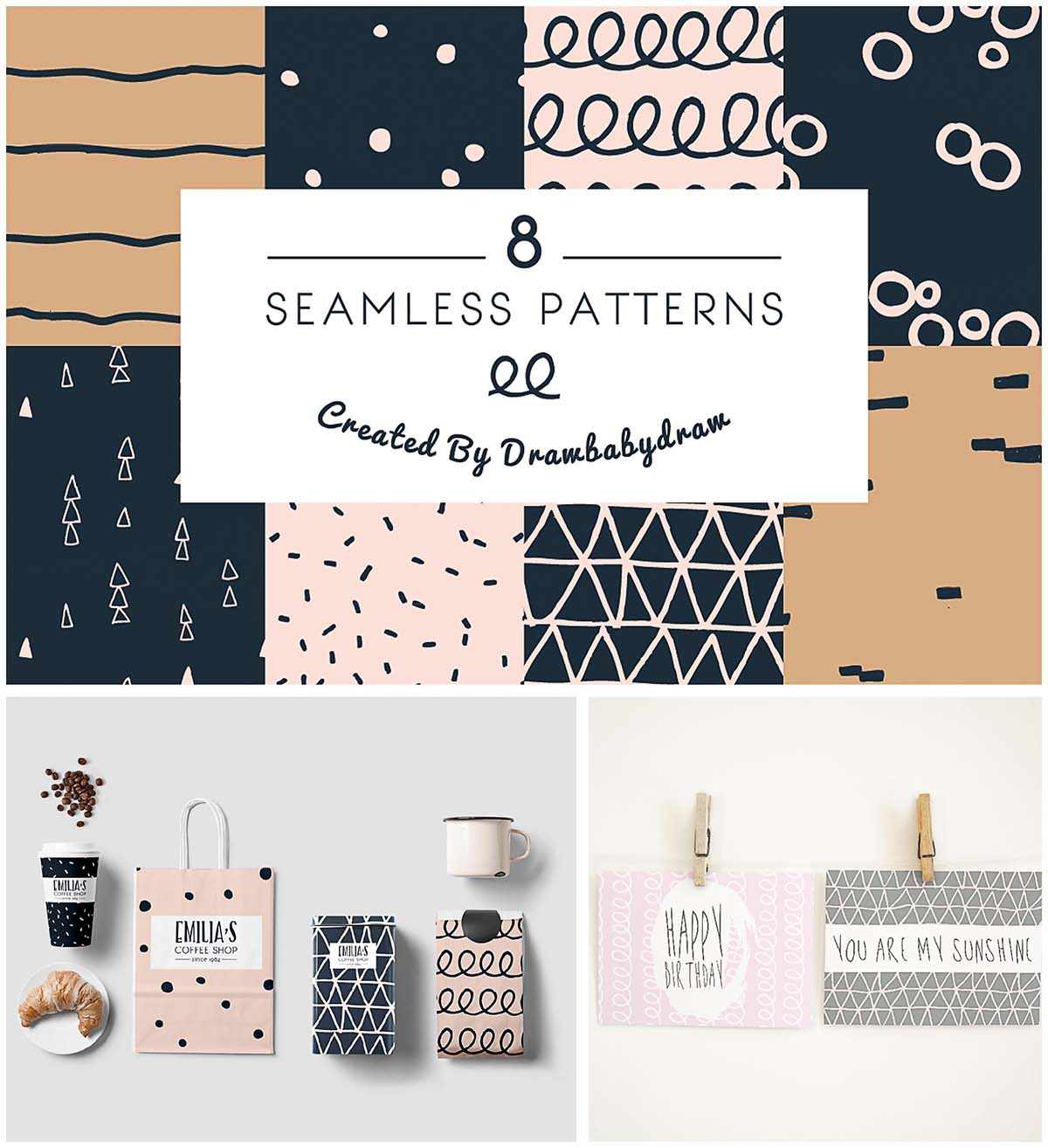 Illustrated pattern collection