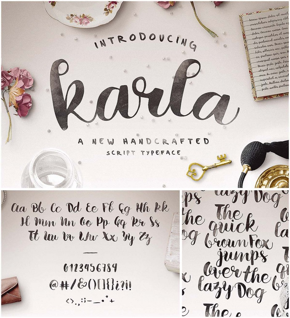 Karla Calligraphic Script  Free Download-9901