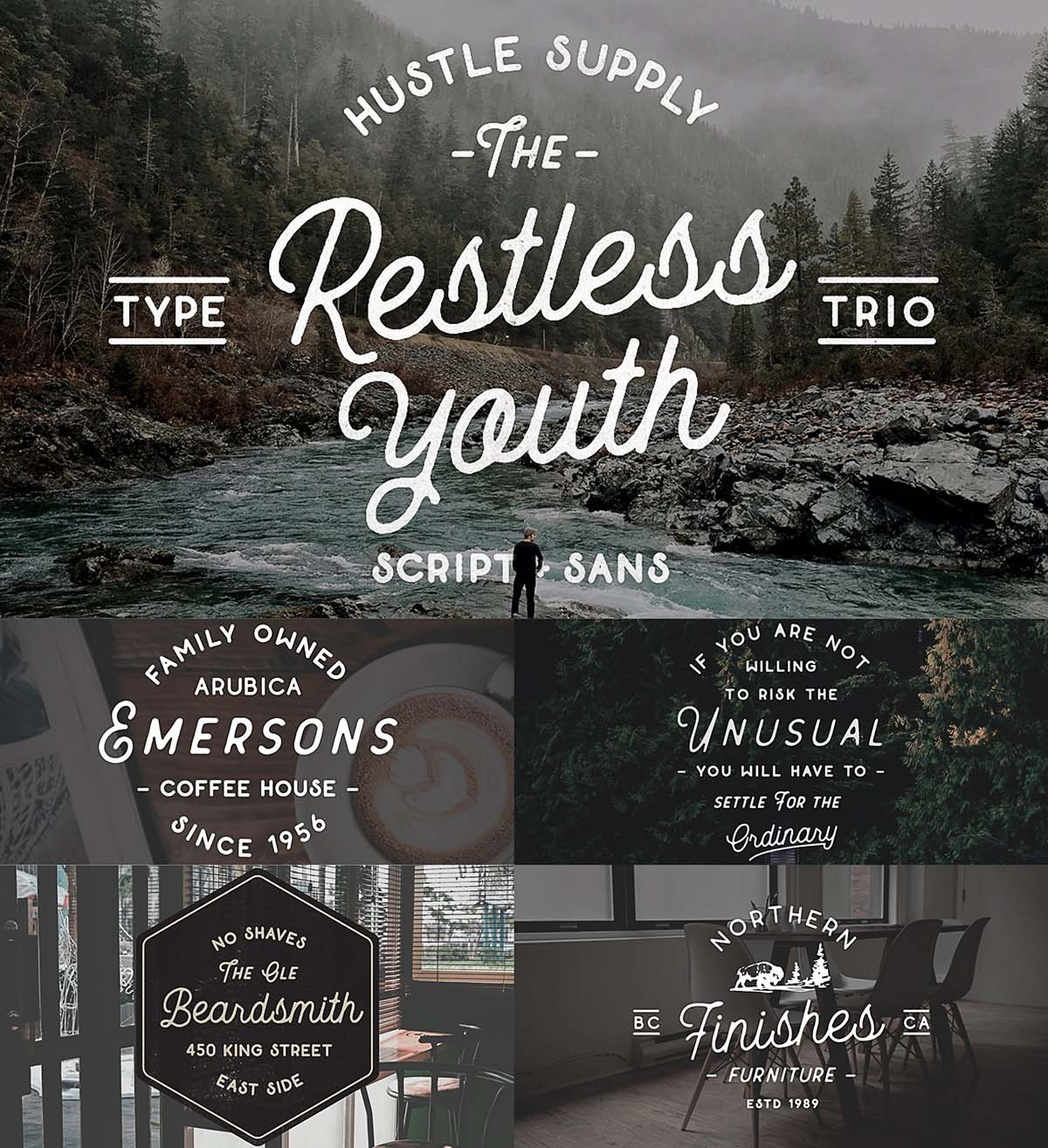 Restless Youth Cursive Font