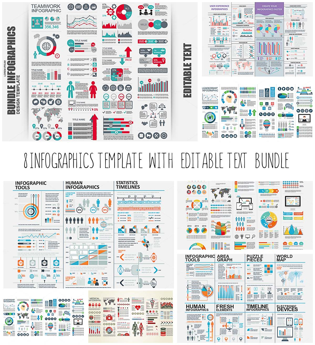 Infographics big bundle