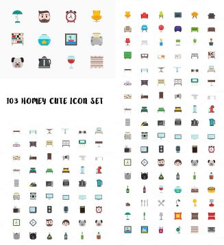 103 Homey icon set