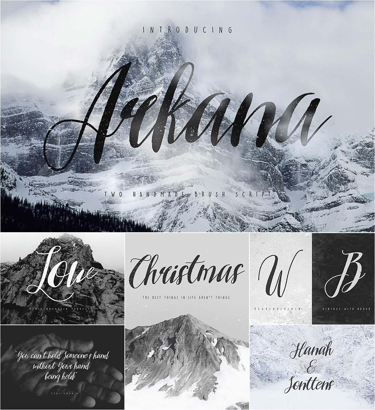 Arkana free font