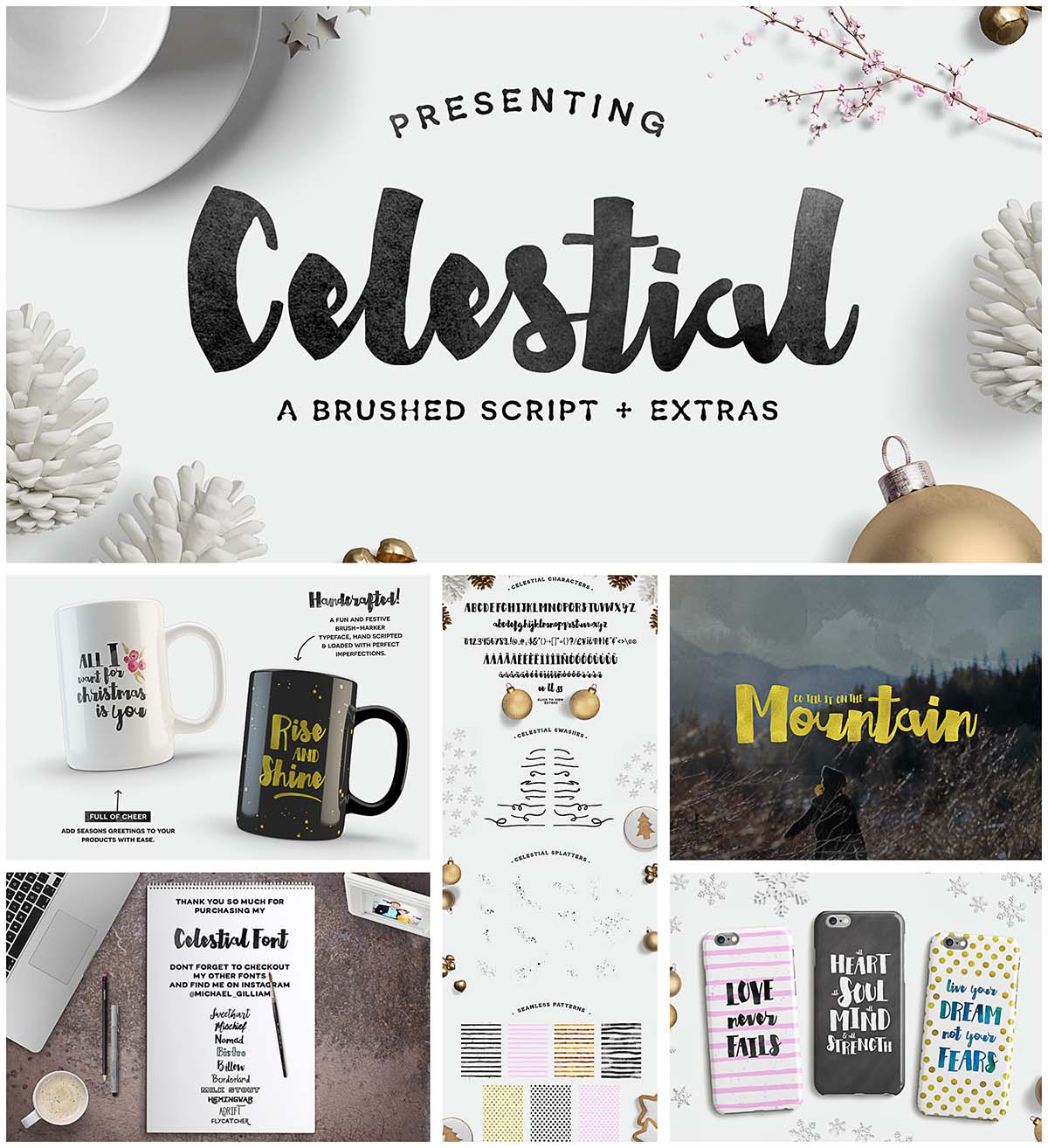 Celestial script font