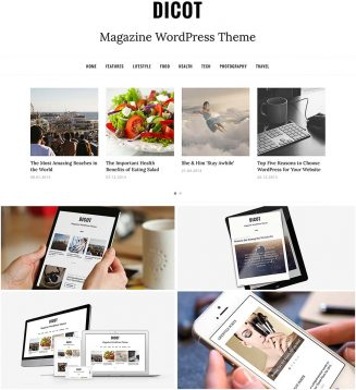 Dicot magazine wordpress theme