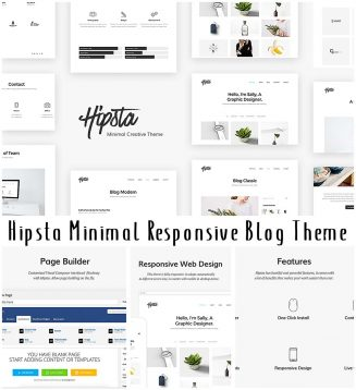 Hipsta WordPress free theme