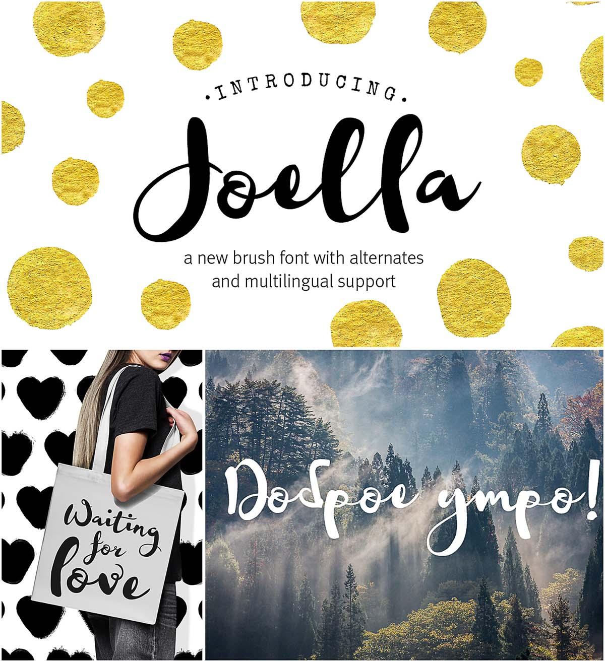 Joella cyrillic font