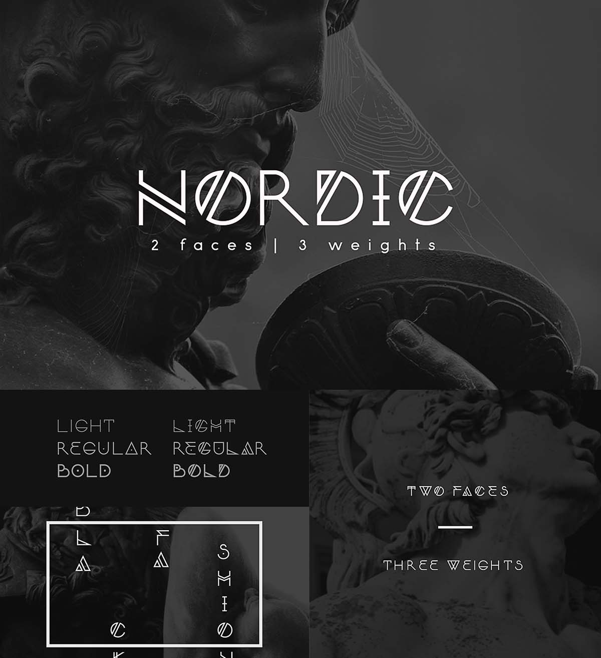 Nordic font family