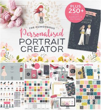 Personalised portrait creator bundle