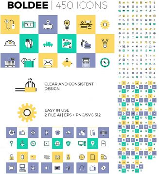 Icon and pictogram big bundle