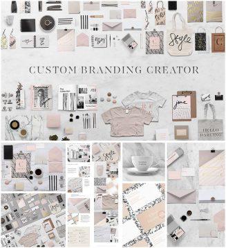 Marble Custom branding design