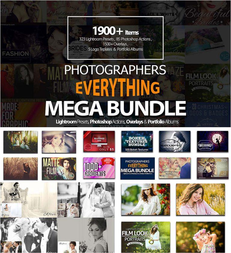 Photographers lightroom presets big pack