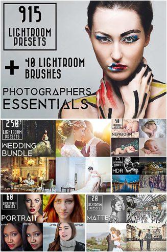 915 Lightroom Presets Bundle