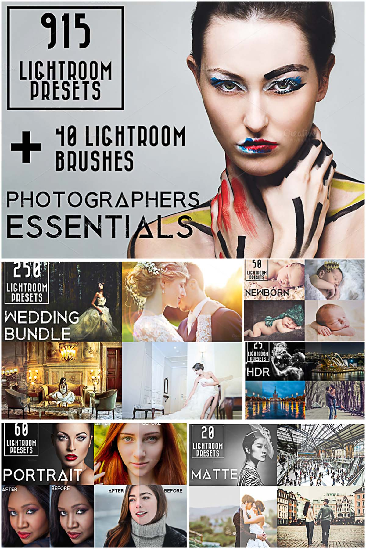 915 Lightroom Presets Bundle