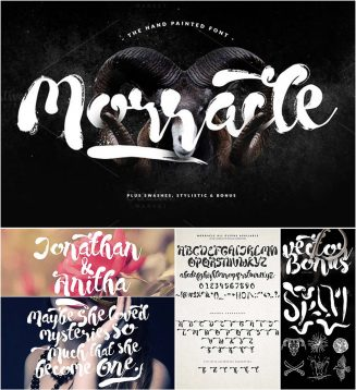 Morracle font with extra