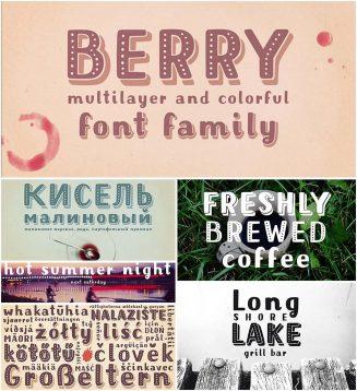 Mrs berry font family