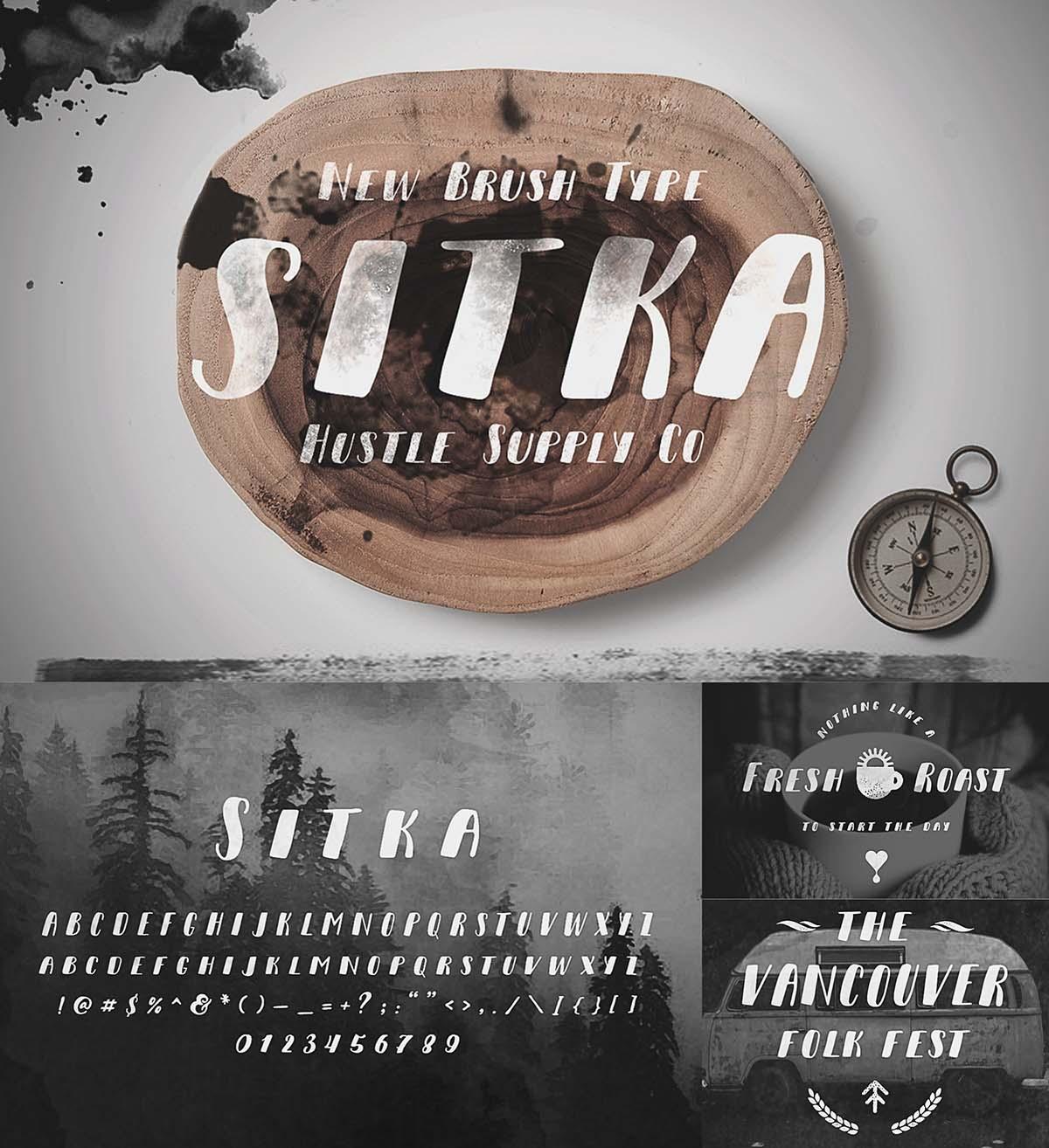 Sitka brush type