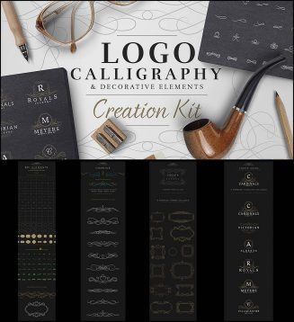Caliigraphy logo creation kit