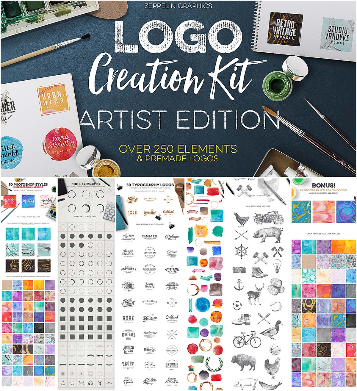 Logo creation kit vol.5 artist edition