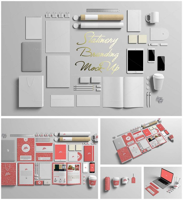 Stationery mock-up collection