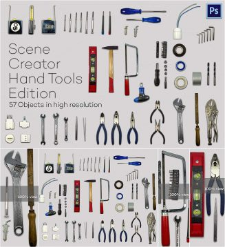 Hand Tools edition scene creator