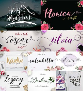 Charming font bundle
