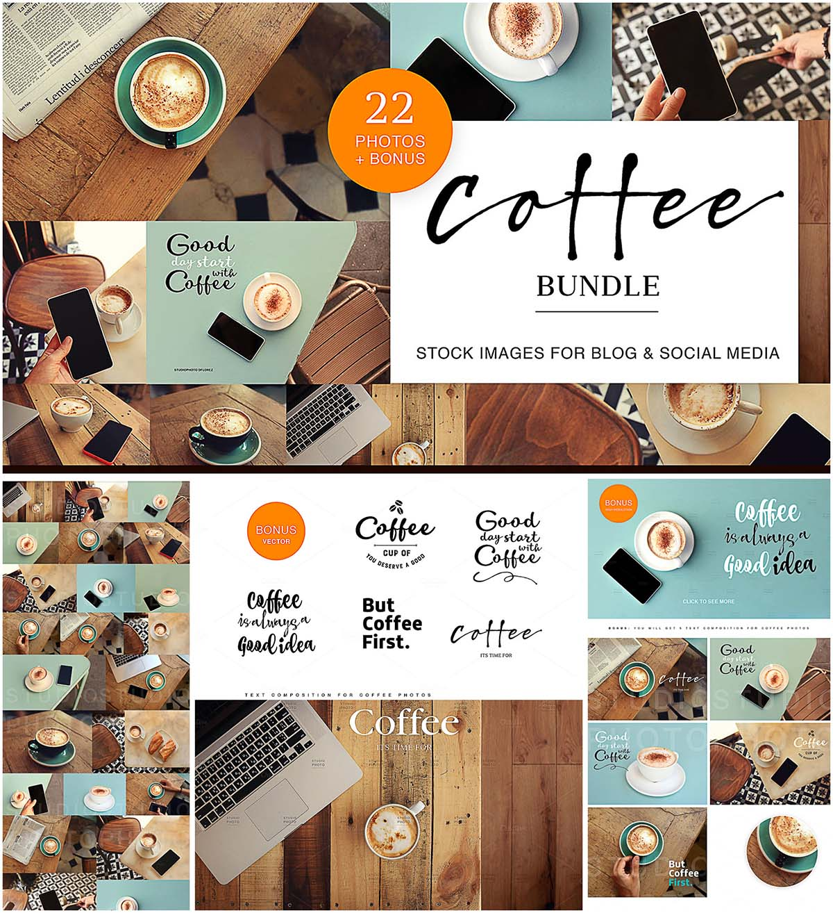Coffee stock image collection