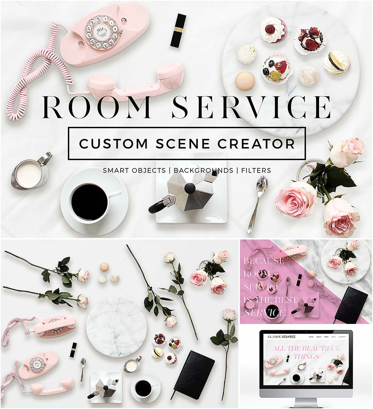 Custom csene room service