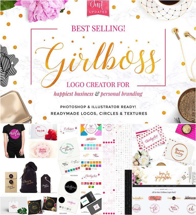Girlboss logo creator