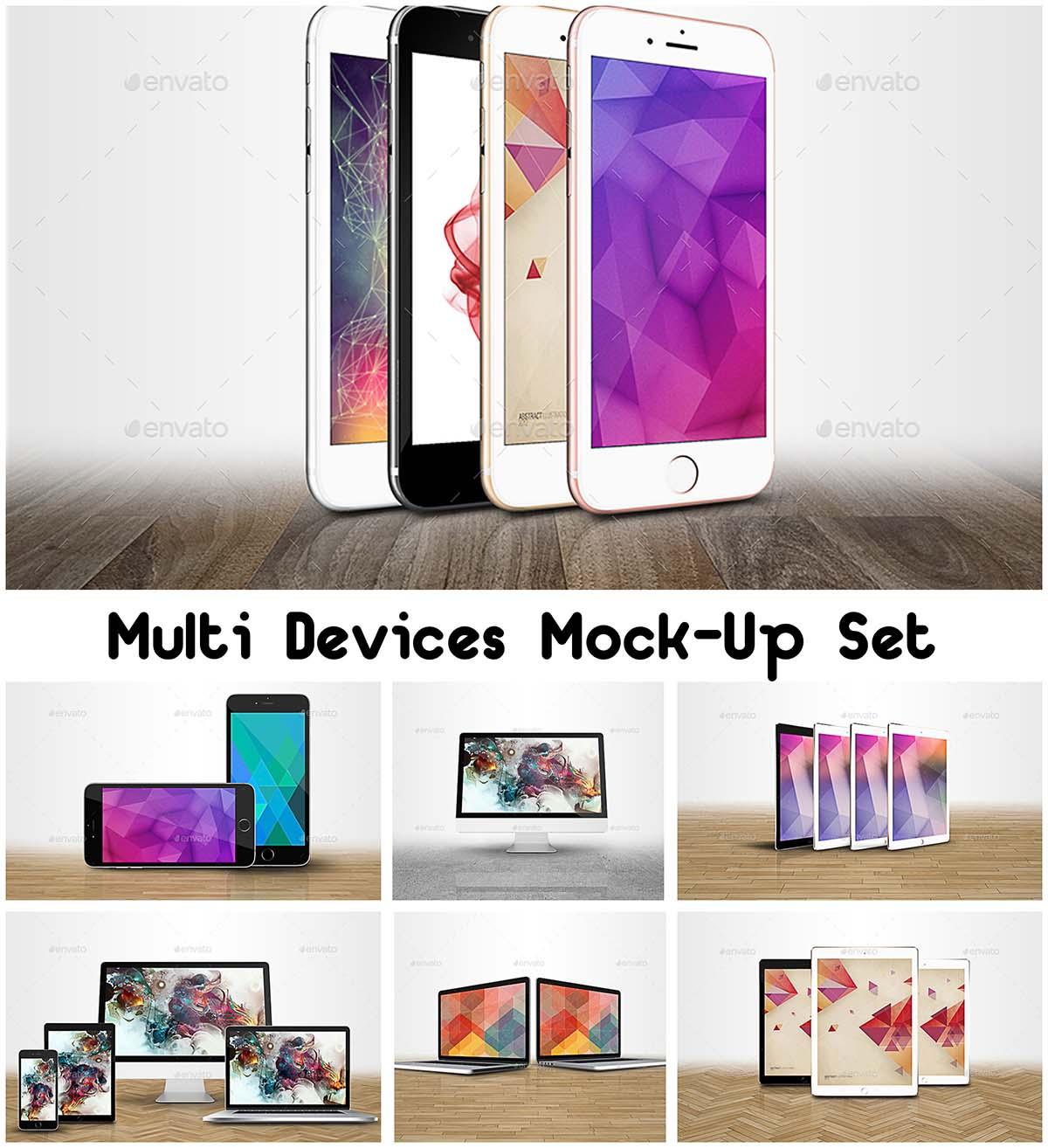 Multi devices mock-up bundle