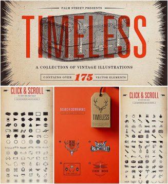 Timeless vintage illustrations