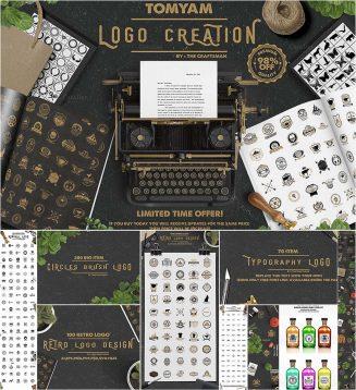 Logo creation kit bundle