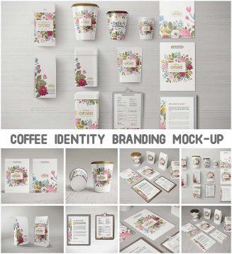 Coffee branding mock-ups