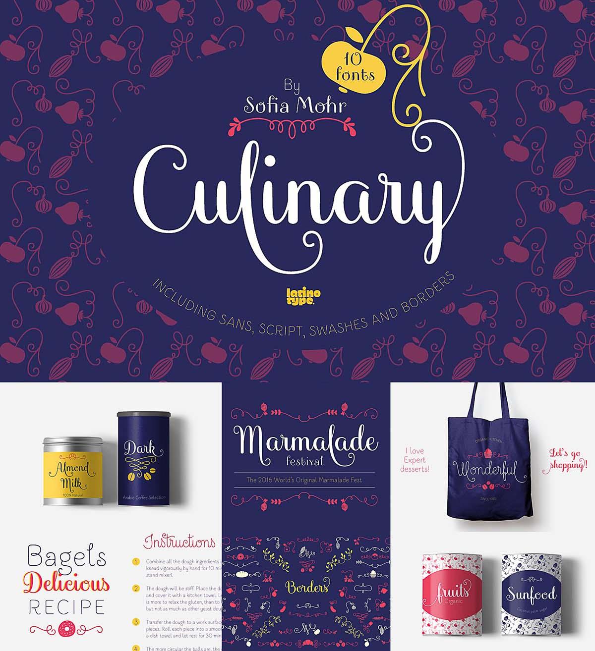 Culinary font