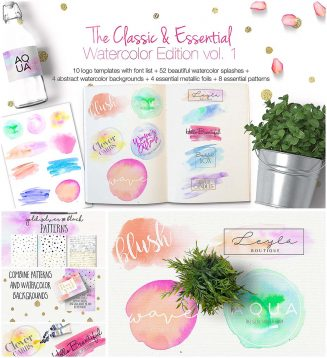 The classic essential watercolor