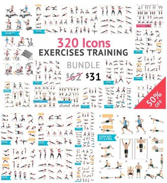 320 fitness icons