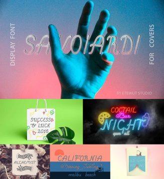 Savoiardi font