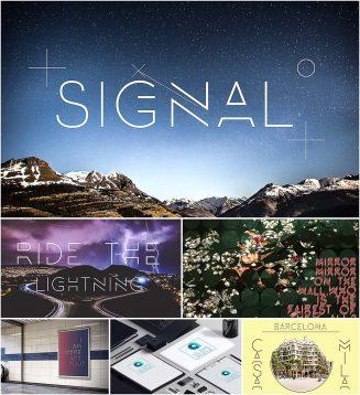 Signal font