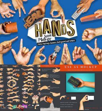 Hands scene maker