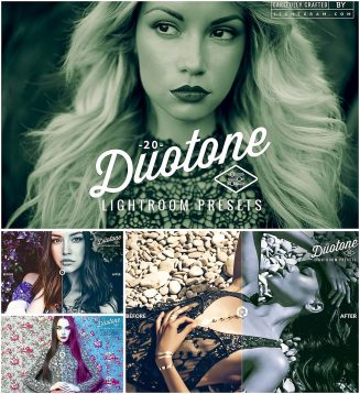 Duotone presets for Lightroom
